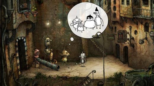 Los 7 mejores juegos de aventuras para el iPhone (2015): Machinarium