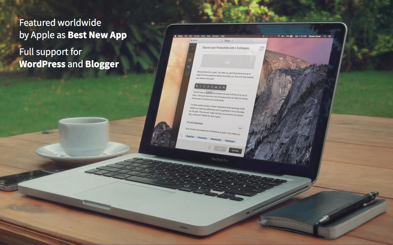 Blogo, el mejor programa de escritorio para gestionar tu blog WordPress (Mac)
