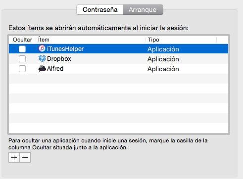 Depura los programas que se cargan después de encender el Mac