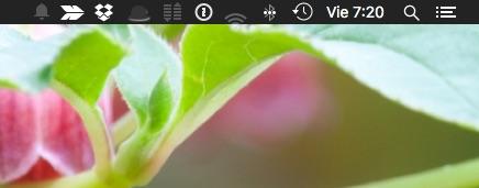 Cómo customizar y ordenar la barra de menús de tu Mac
