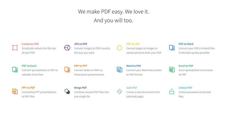 Cómo convertir un archivo PDF a otro formato (Word, Excel, JPG) online