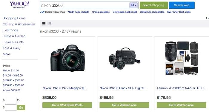 Yahoo! Shopping