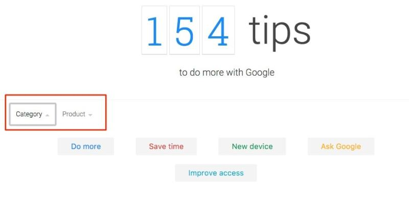 154 consejos y trucos para mejorar tu eficiencia con Google