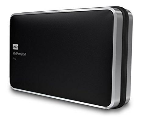 Western Digital My Passport Pro - Disco duro de 4 TB