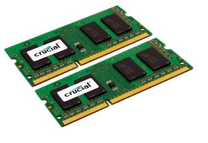 Crucial - Memoria RAM de 8 GB (4 GB x 2, DDR3, 1066 MHz)