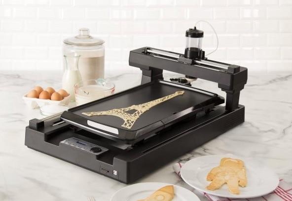 impresora 3D de tortitas