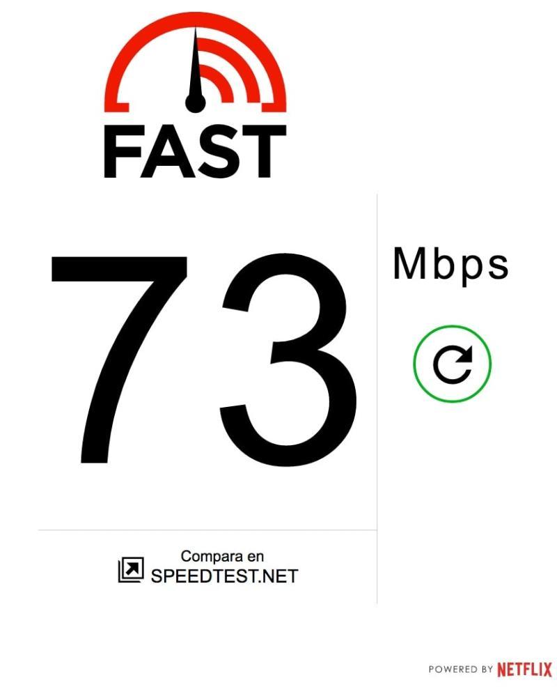 Comprueba facilmente la velocidad de descarga que tiene tu conexión a internet gracias a Netflix