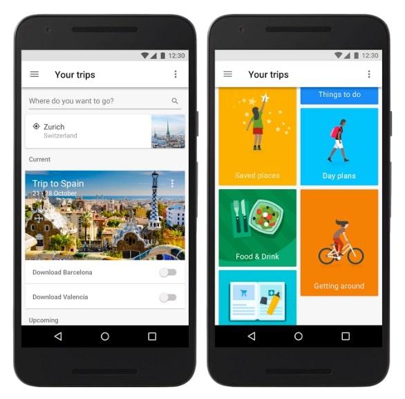 Google Trips: organiza tu viaje de manera automática y con toda la información offline