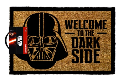 Star Wars GP85033 - Felpudo para puerta La Guerra de las Galaxias Welcome To The Dark Side