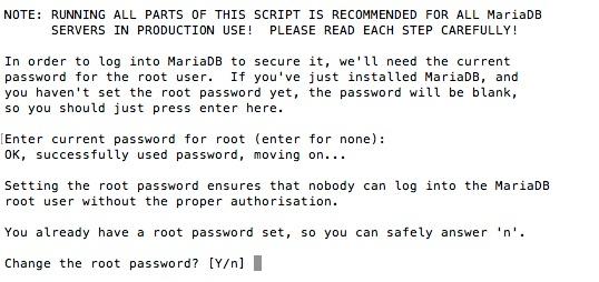 Cómo proteger y asegurar MySQL o MariaDB en un servidor Linux VPS