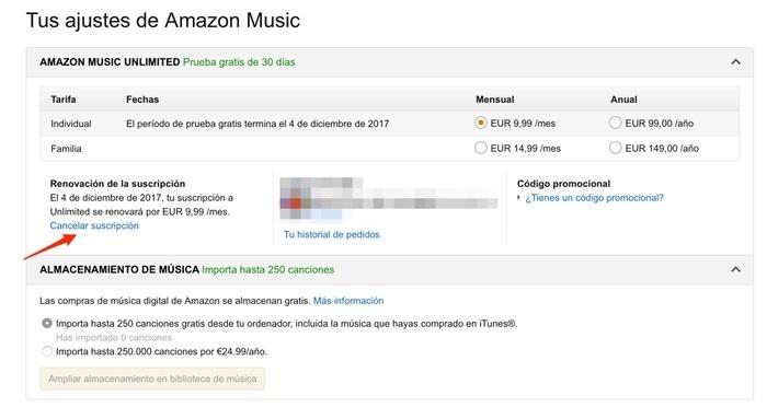 Amazon Music Unlimited España