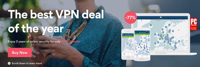Cyber deal NordVPN 2017