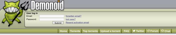 demonoid torrents