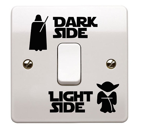 Star Wars vinilo Adhesivo para interruptor de pared