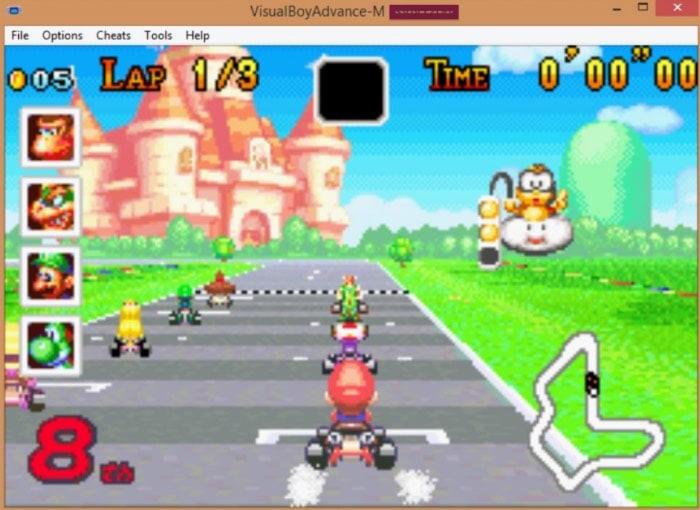 GameBoy Color/Advance Emulador