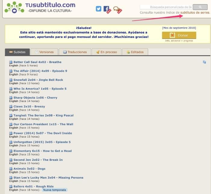 Coordinar subtitulos online dating