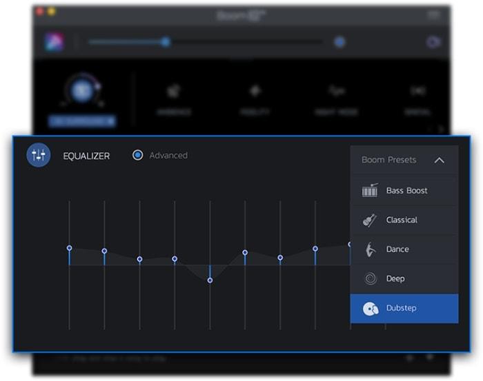Boom 3d app musica mac