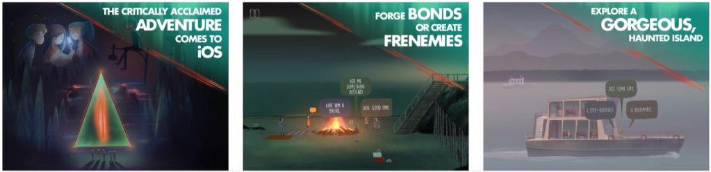 oxenfree iOS juego