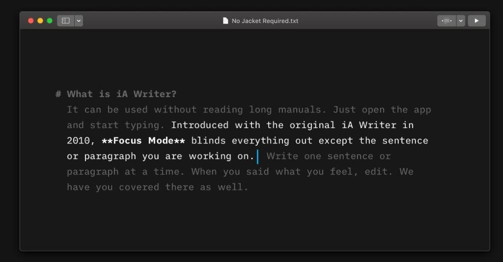 iA Writer: la opción perfecta para escribir sin distracciones