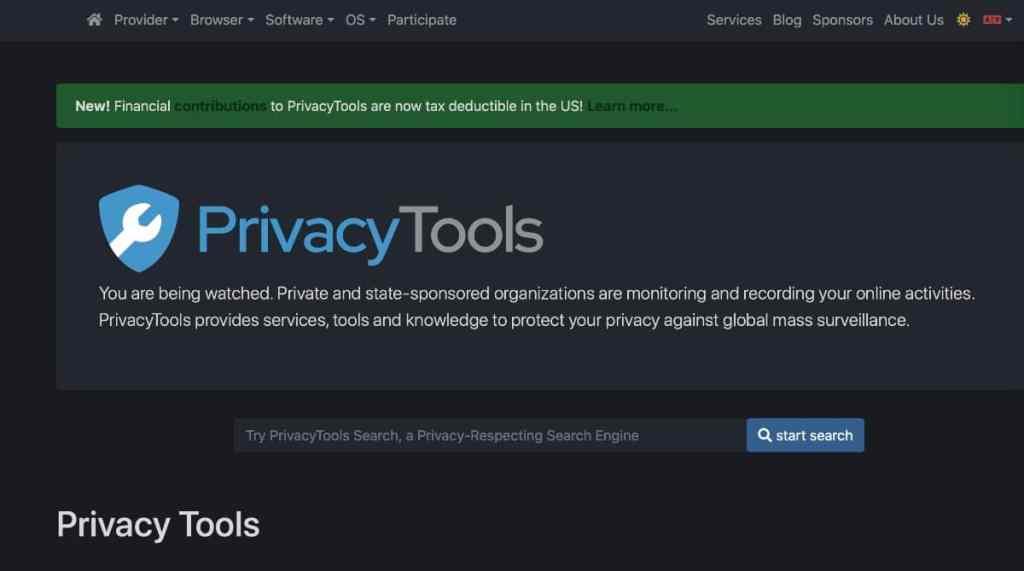 www.privacytools.io