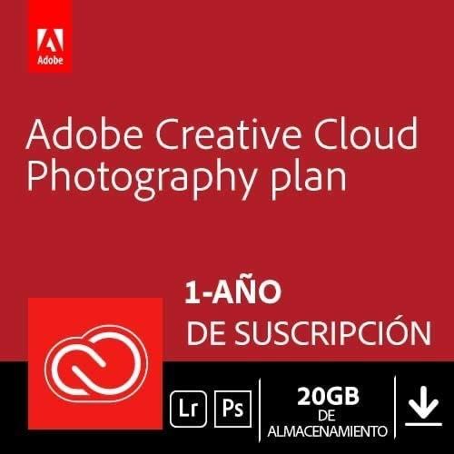 Creative Cloud Photography plan con 20GB