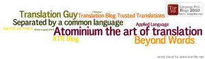 Este es el octavo mejor blog de traducción de la blogosfera