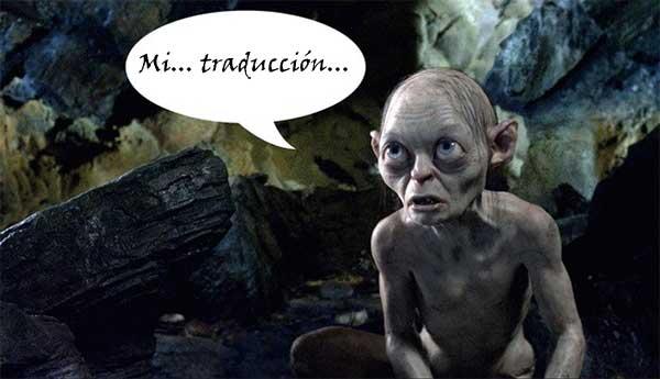 Mi traducción Hobbit