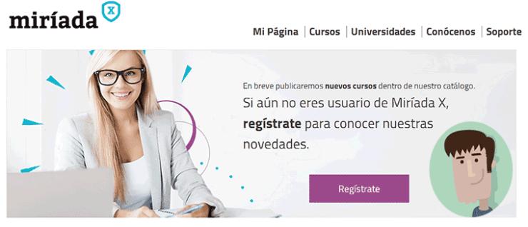 Miríada X - Plataforma de cursos online tipo MOOC en español