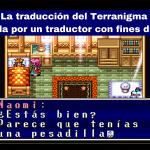 La traducción del Terranigma comentada por un traductor con fines didácticos