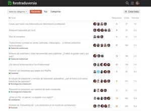 ForoTraduversia - Una comunidad de traductores para hablar de traducción