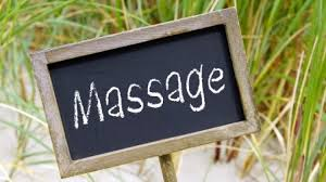 panneau massage
