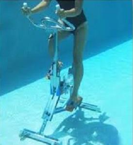 vélo piscine