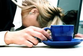fatigue femme bureau