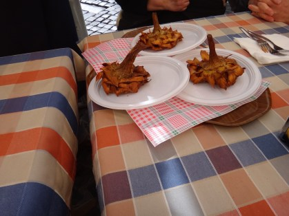 Bairro Judeu - Alcachofra frita