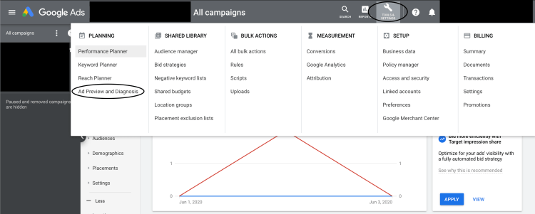 How To Access Google Ads Ad Preview Tool