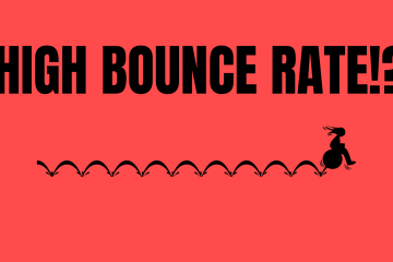 High Bounce Rate on a website