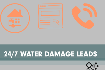Algorithmic Global helps get your business more water damage restoration leads