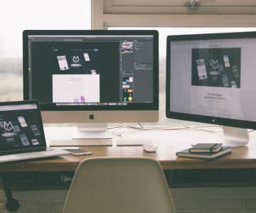 Website management companies workstation