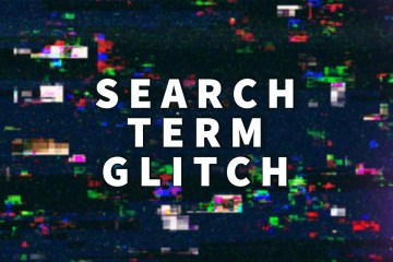 search term glitch