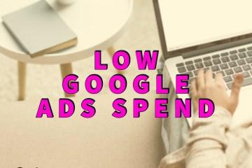Low Google Ads Spend