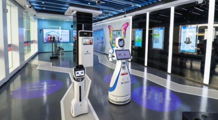 Chinese Bank Launches World's First Fully Robotic Bank Branch