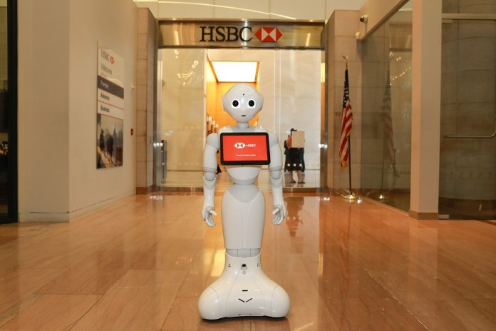 HSBC's Latest High Profile Hire: Pepper the AI Robot