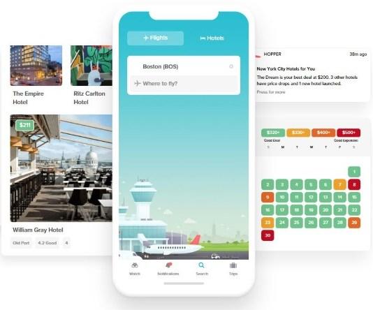 AI Travel App Hopper Raises $100M at $780M Valuation