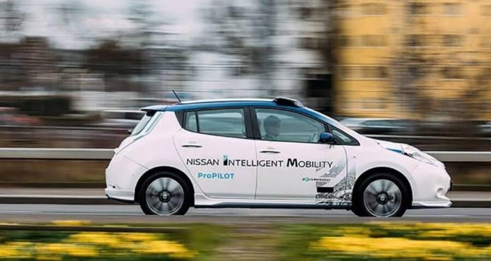 Nissan Renault Selfdriving Car