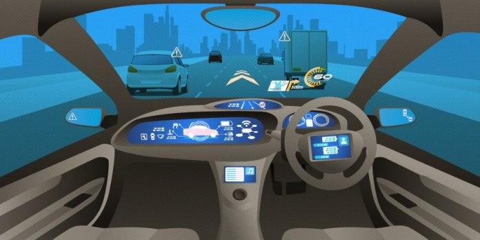 Tata Elxsi driverless car