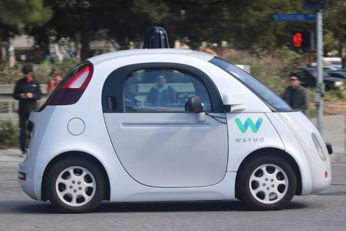 Waymo Self Drving Car