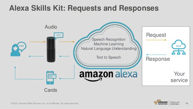 Amazon Alexa is one of most developed chatbot available.