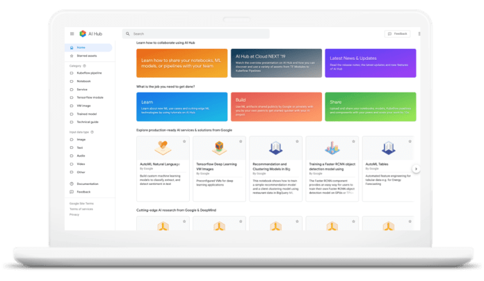 Google AI Hub