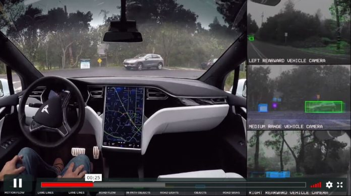 Tesla uses natural language processing in its Enhanced Summon feature which will allow to you pick up your car with your voice.