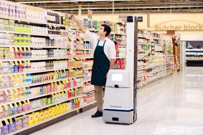 Bossa Nova Robotics shelf-scanning robots